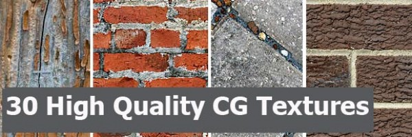 30 High Quality CG Textures