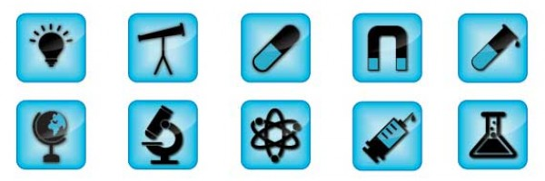 Premium Sciences Icons Vector Pack