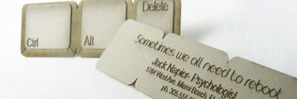 Creative and Unusual Business Cards