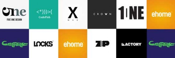 Creative Examples of Typographic Logo Designs