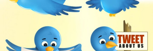 Free Twitter Blue Bird Icons set