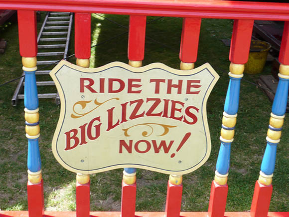 Ride the big lizzies now